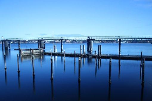 Kiel, Baltic Sea, Sea, Water, Shipping, Coast