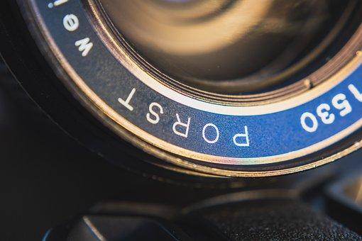 Lens, Porst, Auto Revuenon, Weitwinkel, Bokeh, Vintage