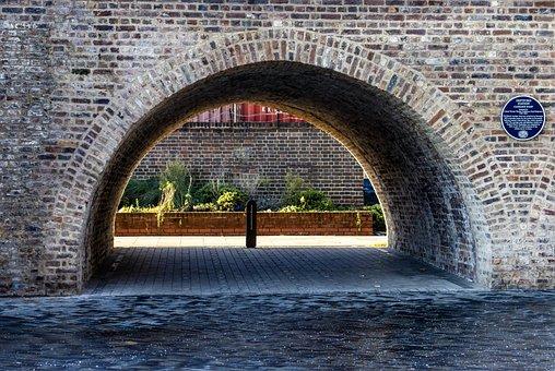 Archway, Walk, Passage, Architecture, Arch, Bricks