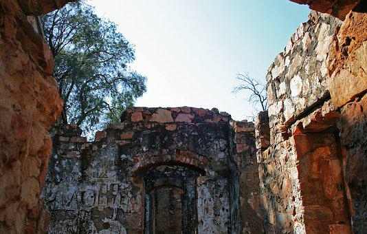 Old Fort In Ruin, Architecture, Building, Old, Fort