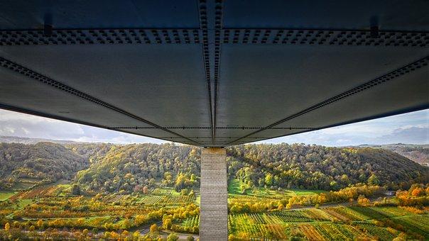 Bridge, Construction, Building, Architecture, Steel
