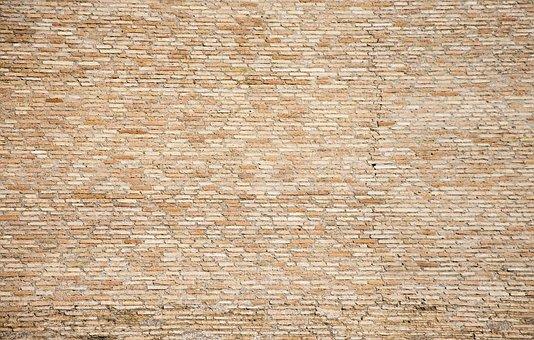 Brick, Texture, Background, Wall, Pattern, Red, Orange