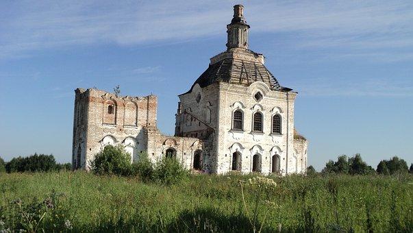 Siberia, Church, Irtysh River