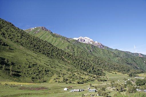 Kyrgyzstan, Chychkan Valley, Tschytschkan Valley