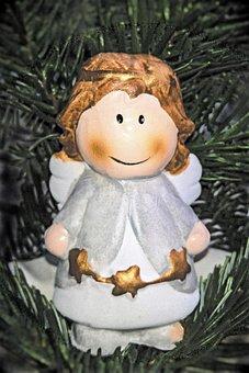 Christmas Angel, Ceramic Figures, Christmas, Customs