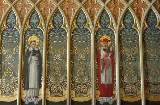 Fresco, Painting, Religion, The Palau Ducal Del Borja