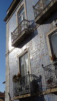 Facade, Tiles, House, The Art Of, Light, Façades