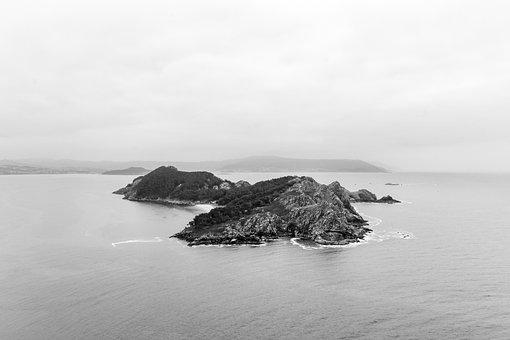 Islands, Cíes, Galicia, Ries, Vigo, Pontevedra