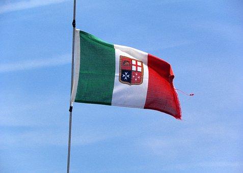 Italy, Flag, Nautica, Navigation, Browse, Symbols