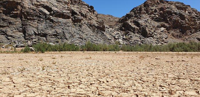 River, Dehydrated, Nature, Landscape, Season