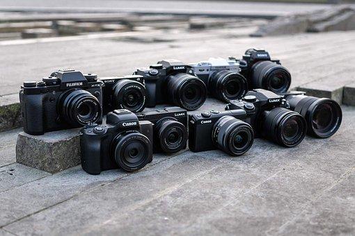 System Cameras, Canon, Fujifilm, Olympus, Nikon