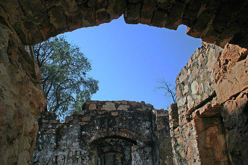 Old Ruined Fort, Architecture, Building, Old, Fort