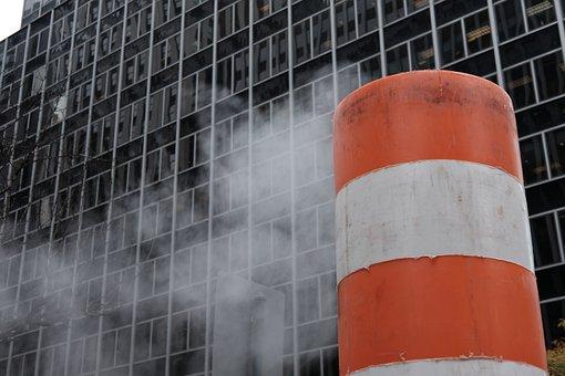 The Con, Gatuarbete, Mist, Smoke, Road