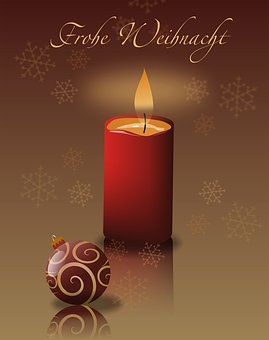 Christmas, Candle, Advent, Light, Decoration, Flame
