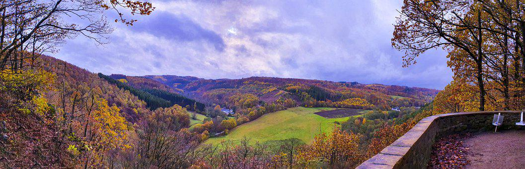 Panorama, Ennepetal, Germany-hohenstein, Landscape