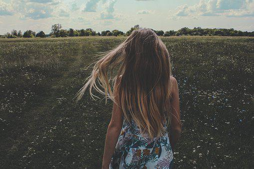 Girl, Hair, Beautiful