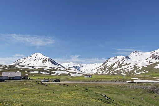 Kyrgyzstan, Alabel Pass, Pass, Mountain Pass, Mountains