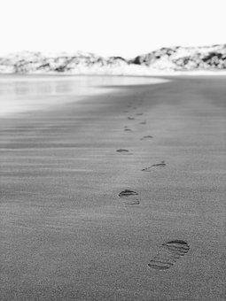 Ocean, Beach, Sea, Sand, Coast, Nature, Travel, Horizon