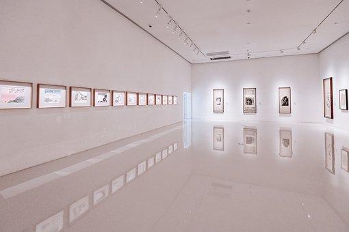 Art Gallery, Exhibition, Walls, Space, Building