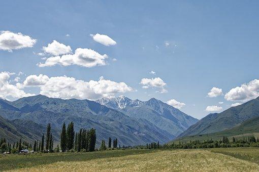 Kyrgyzstan, Spades Putin, Mountains
