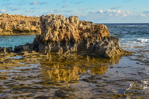 Rock, Stone, Rocky Coast, Wilderness, Nature, Sea, Sky