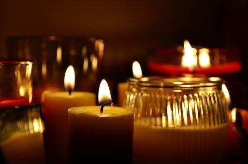 Candles, Light, Burning, Candlelight
