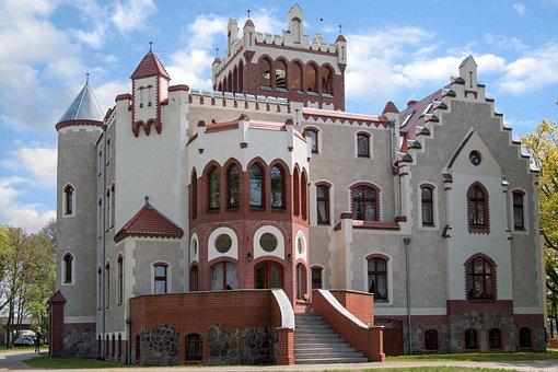 Castle, Hotel, Building, Architecture, History