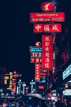 Chinatown, Bangkok, Thailand, Street