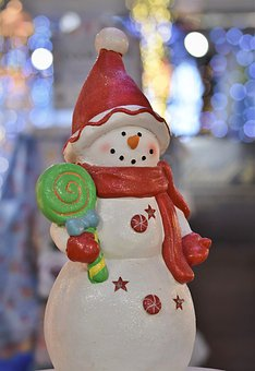Snowman, Figure, Winter, Cold, White, Christmas, Wintry