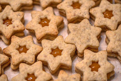 Christmas, Pastries, Cookies, Star, Cookie, Sweet