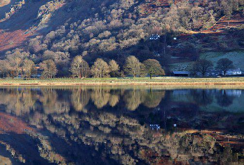 Brothers Water, Cumbria, Lake District, Reflections