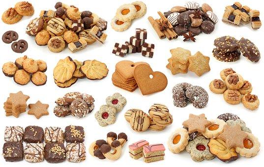 Cookies, Cupcake, Cake, Dessert, Baking, Glaze, Cream