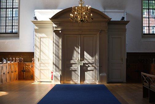 Door, Entry, Modern, Church, Religion, Architecture