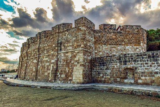 Castle, Wall, Fortress, Old, Architecture, Building