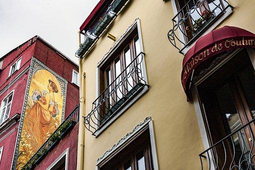 Beyoglu, French Street, Fransiz Sokagi, Street, Alley