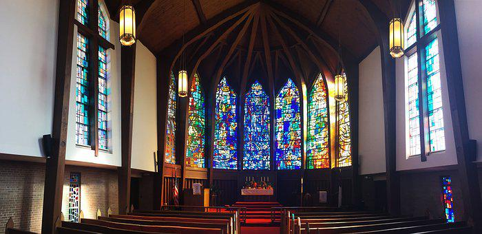 Church, Stained Glass, Window, Glass, Color, Colorful