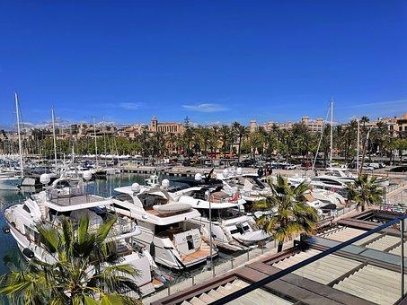 Plama De Mallorca, Mallorca, Port, Summer, Vacations