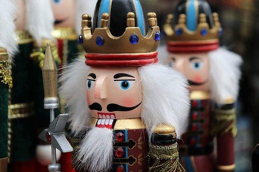 Nusskracker Figure, Nutcracker, Toy, Soldier, Guardian