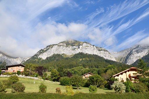 Mountain, Landscape, Panoramic Views, Haute Savoie