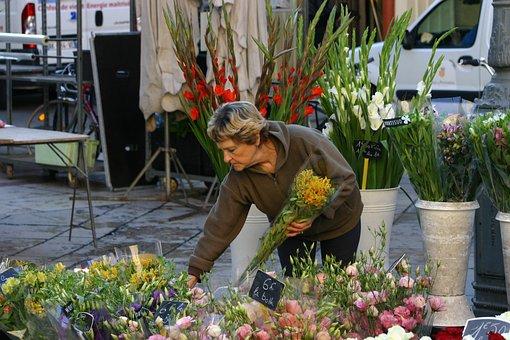 Market, Aix-en-provence, South Of France, Street Life