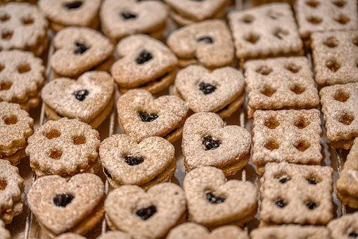 Christmas, Pastries, Cookies, Cookie, Sweet, Advent