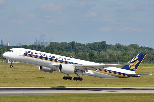 Singapore Airlines, A350, Airbus, Dus, Airport