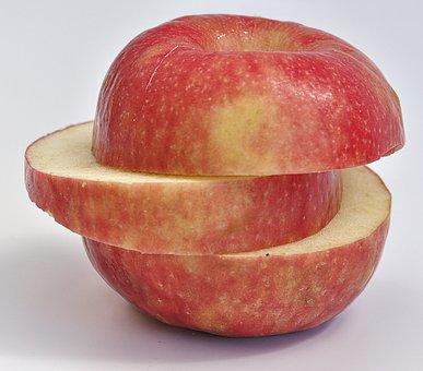 Apple, Sliced, Discs, Dessert Fruit, Fruit