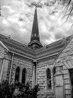 Church, Spire, Architecture, Building, Steeple
