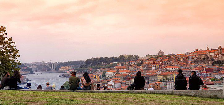 City, Porto, Portugal, Architecture, River, Travel
