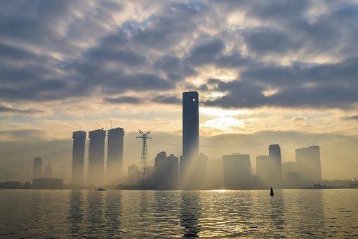 Xiamen, River, The Morning Sun, Artistic Conception