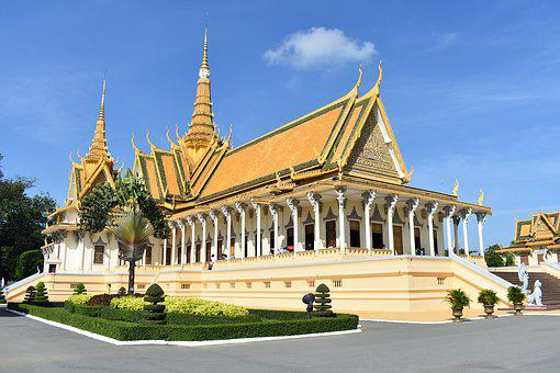 Royal Palace, Phnom Penh Cambodia, Asia, Travel, Palace