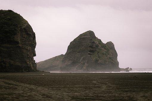 Beach, Nature, Water, Rock, Landscape, Feature