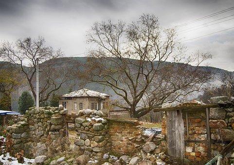 Bulgaria, Vlahi, Pirin Mountains, Village