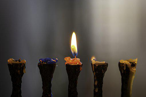 Candlelight, Candle, Flame, Lights, Religion, Chanukah